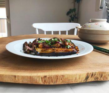 Cà tím sốt gừng – Gingery Braised Eggplant
